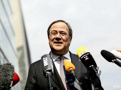 Правящая партия Германии выдвинула кандидатом в канцлеры лидера ХДС Лашета