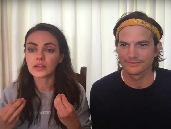 Did Mila Kunis Force Ashton Kutcher To Remove His 'Cry For Help' Post?