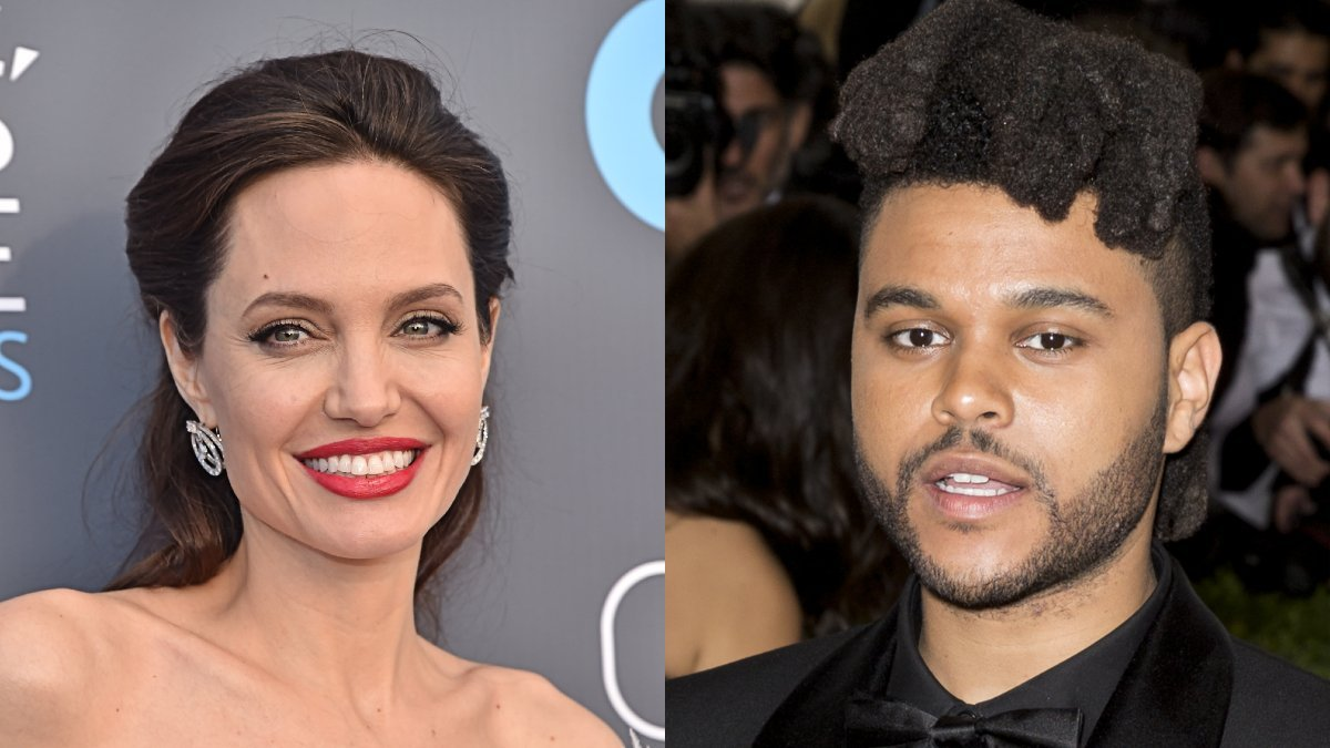 Angelina Jolie, The Weeknd Spotted At Private Concert Together Amid Dating Rumors