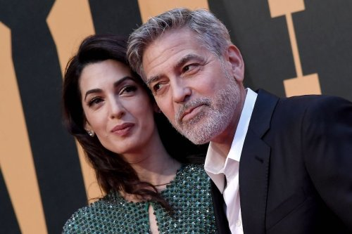 Report: Amal And George Clooney Renewed Vows In Lake Como, Have Baby #3 On The Way