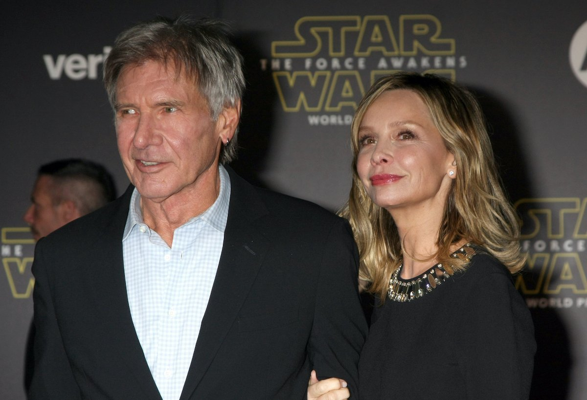 Reports: Calista Flockhart's 'Had Enough' Of Harrison Ford's Flying And Health Scares