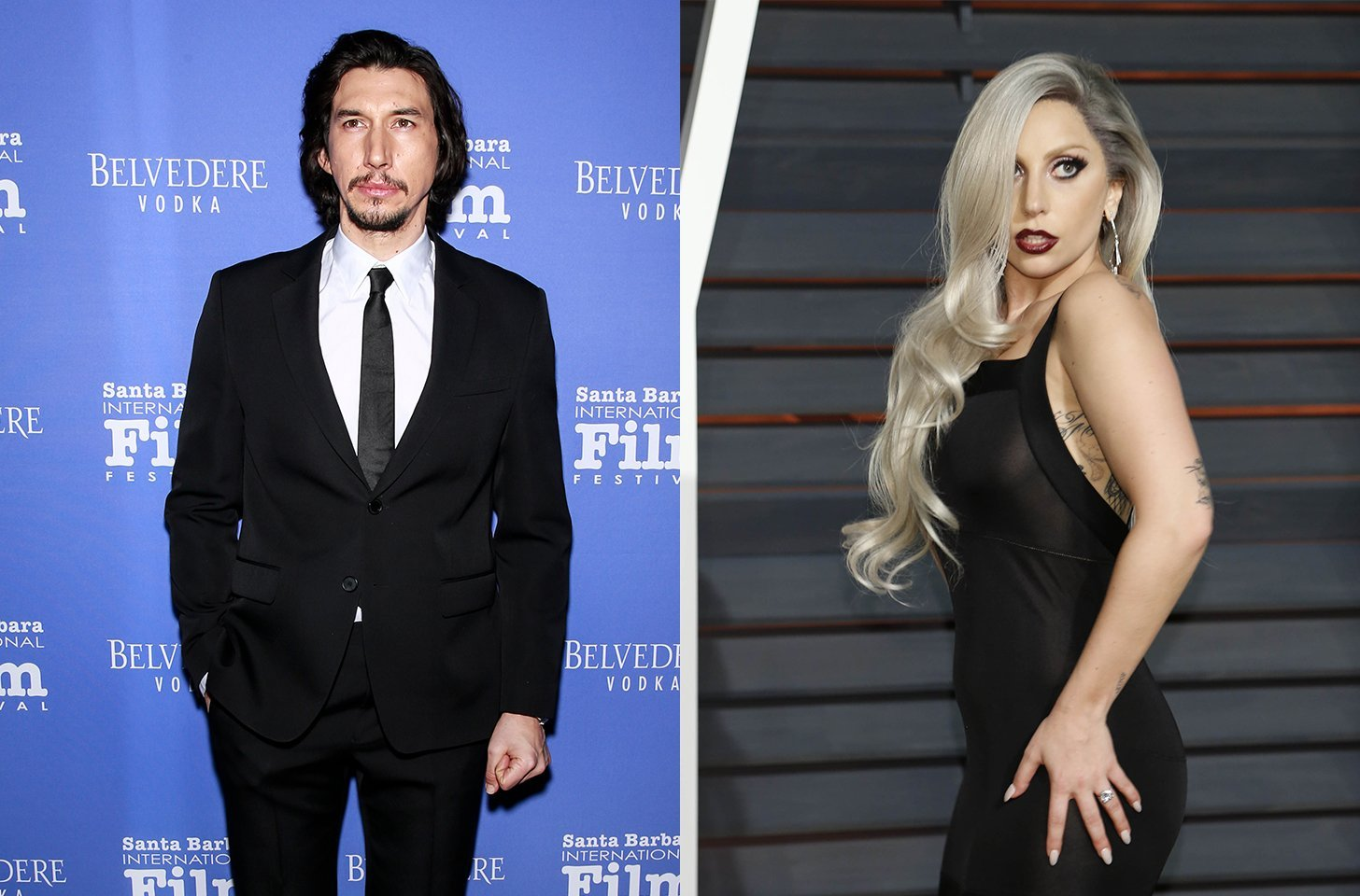 Lady Gaga and Adam Driver Look Awfully Cozy Together On Their Movie Set And Now I'm Suspicious
