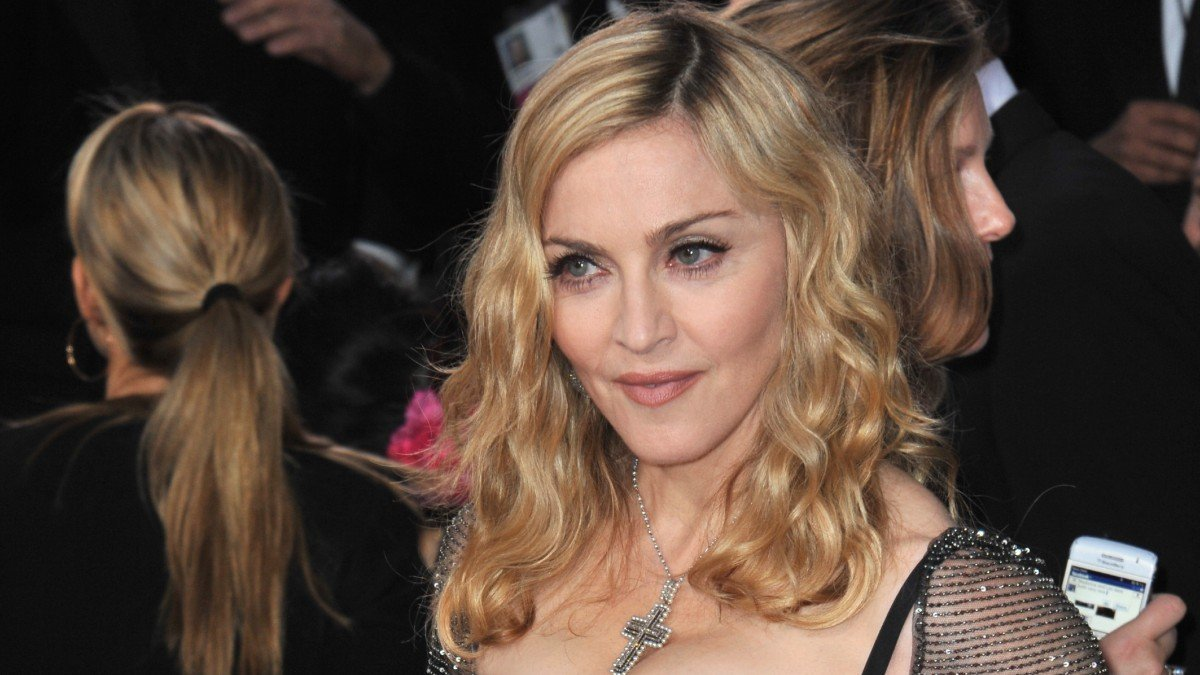 Madonna Stuns In Sexy, Shirtless Photo