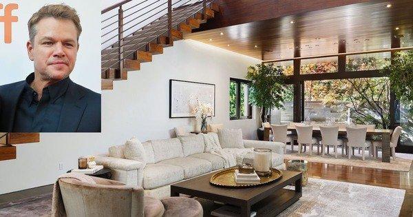 Matt Damon's Selling His Luxurious $21 Million Home — See The Pics!