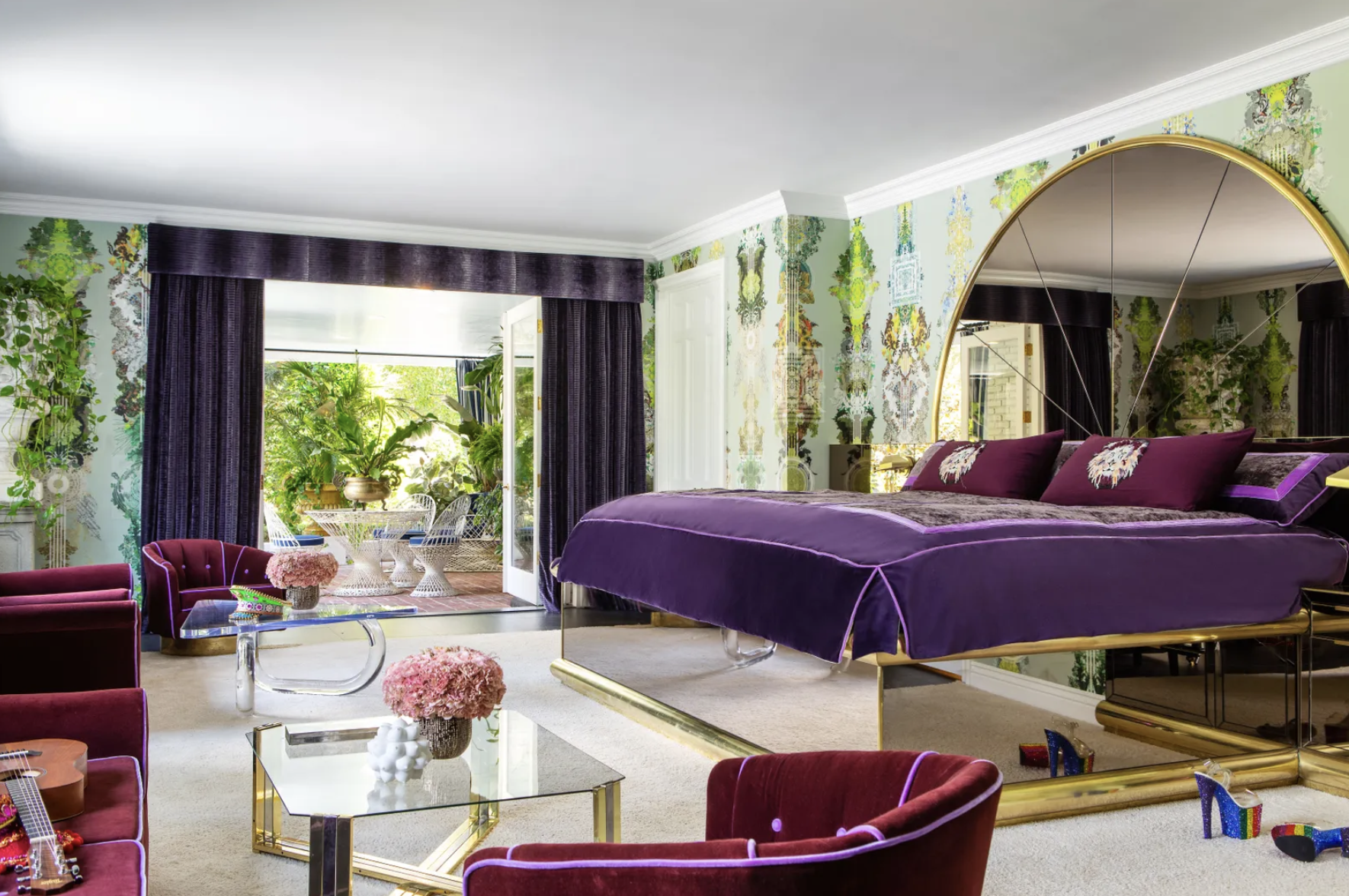 All Of Our Fav Rooms From Cara Delevingne's Insane Home (It Has A Vagina Tunnel, BTW)