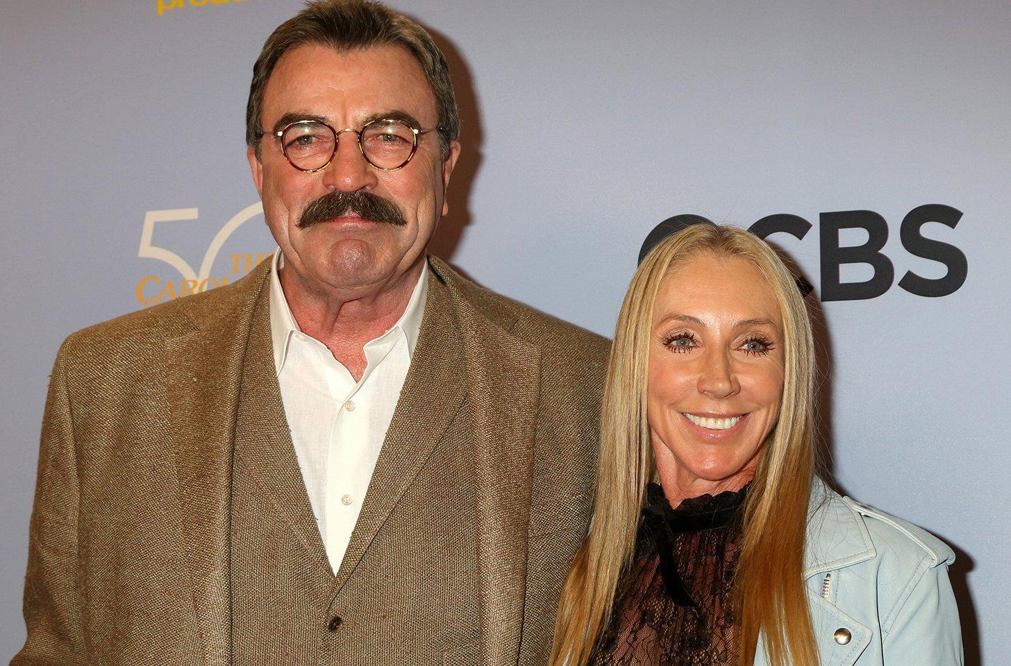 Tom Selleck And Jillie Mack Living Separate Lives?