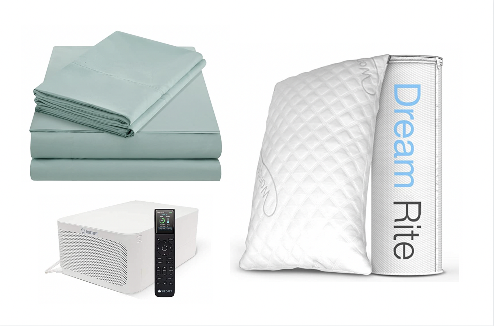 Here's Everything You Need To Stay Cool While You Sleep