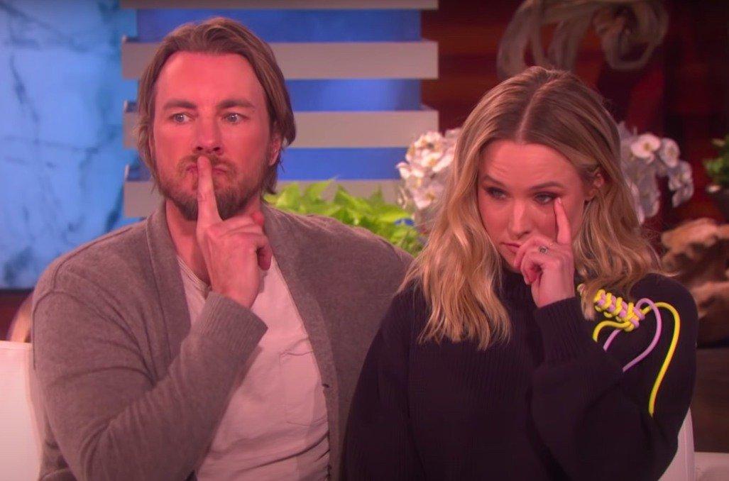 Report: Kristen Bell Tells Husband Dax Shepard That His 'Thrill-Seeking' Is 'Off-Limits'