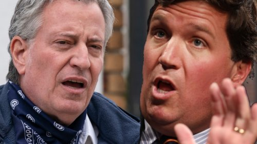 Tucker Carlson Accuses New York Mayor Bill de Blasio Of 'Smoking Too Much Weed'