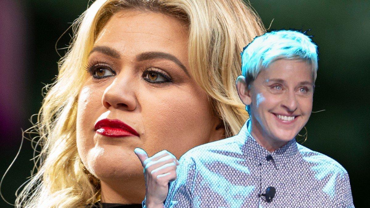 Report: Kelly Clarkson Bans Guests Who Went On 'Ellen' As 'Secret Feud' With Ellen DeGeneres 'Explodes'