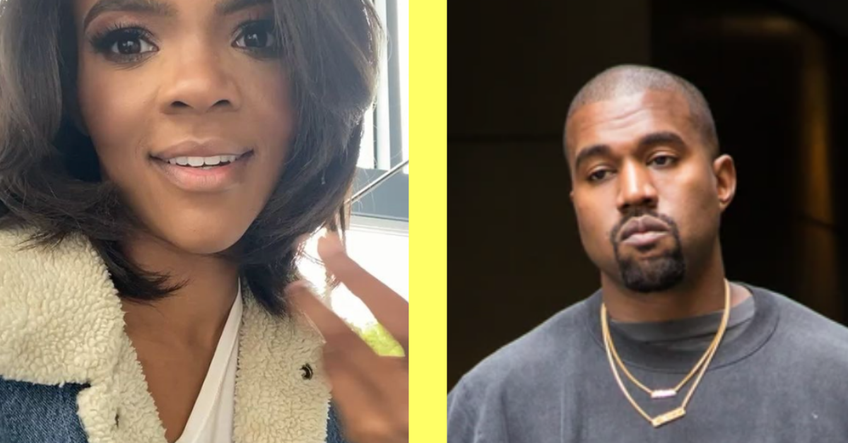 Kanye West Dating Controversial Conservative Pundit Candace Owens?