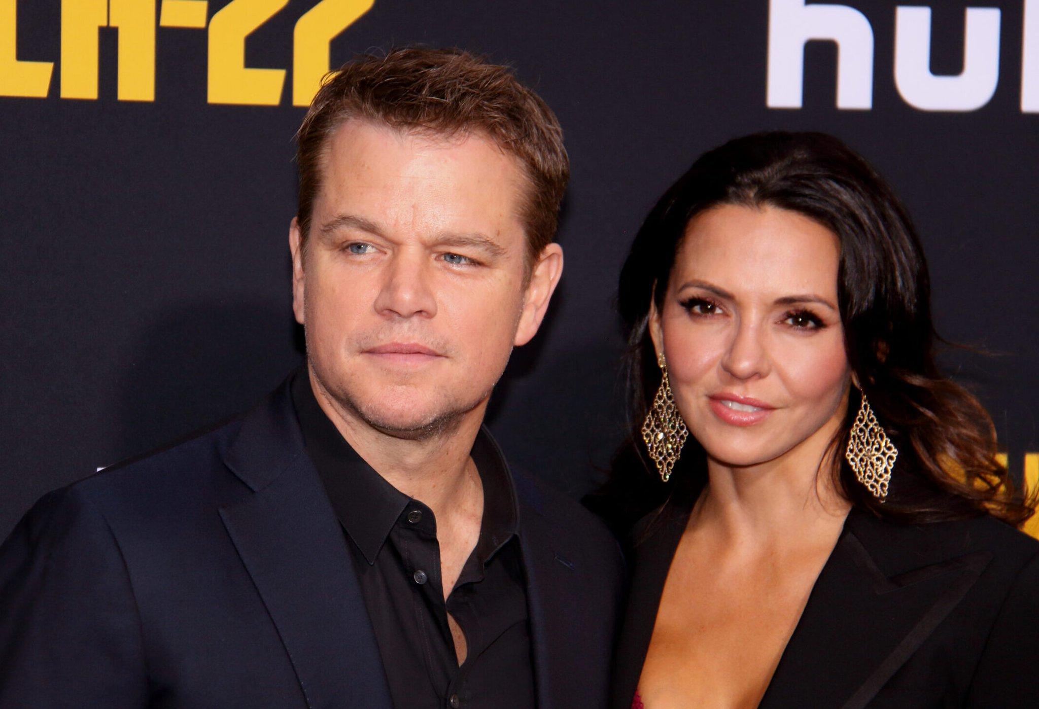 Matt Damon 'Saving Marriage' In Australia?