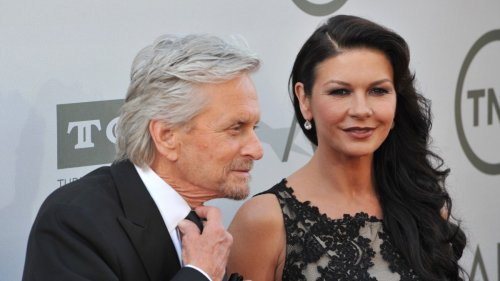 Kirk Douglas' Death Allegedly Creating Marriage Problems For Catherine Zeta-Jones And Michael Douglas
