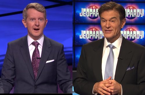 Dr. Oz Feuding With Ken Jennings Over Who Will Be Next 'Jeopardy!' Host?