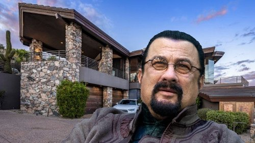 See Inside Steven Seagal's $3 Million Home That Comes With Bulletproof Windows, Other Bizarre Amenities