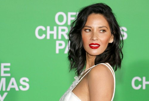 "Olivia Munn's Short Shorts + Boots Combo Is The ""It"" Spring Look"