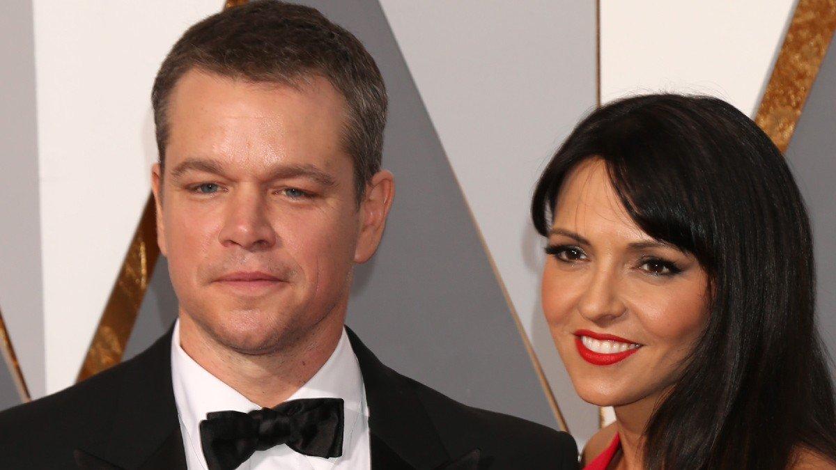 Report: Matt Damon, Wife Luciana Barroso 'Headed For A Split'