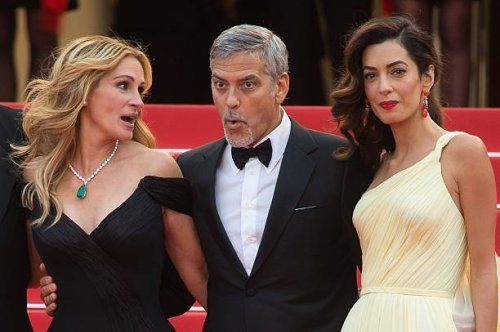 Amal Clooney Angry About George Clooney, Julia Roberts Working Together?