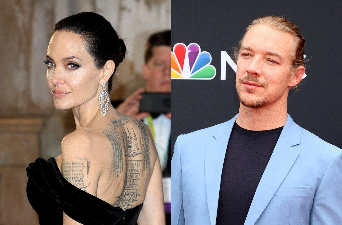 Report: Angelina Jolie Dating Diplo
