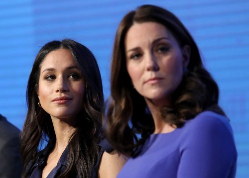 Report: Meghan Markle, Kate Middleton Set For Showdown At Princess Diana's Statue Unveiling