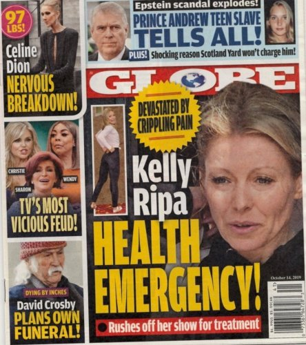 Kelly Ripa Hiding 'Crippling' Health Crisis?