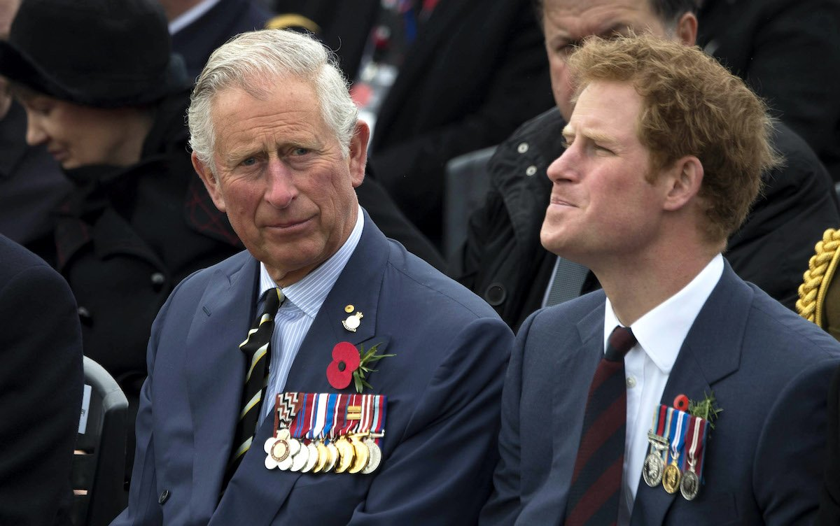 Prince Harry's Relationship With Prince Charles 'Ruined' By 'The Crown'?