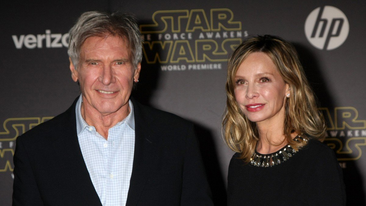 'Fluttery' Calista Flockhart 'Worried Sick' About Harrison Ford After On Set Injury, Putting Him On 'A Leash?'