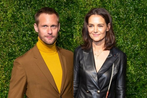 Katie Holmes 'Moves On' With Alexander Skarsgard After Breakup?