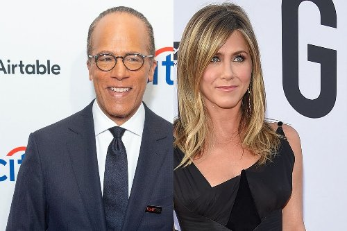 Lester Holt Getting Replaced, Jennifer Aniston's Romantic Reunion, And This Week's Celeb Stories