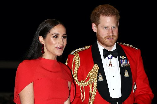 Prince Harry, Meghan Markle Bankrolling Movie About Princess Diana's Death?