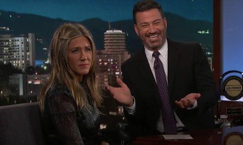 Report: Jennifer Aniston No Longer Friends With 'Disgraced' Jimmy Kimmel