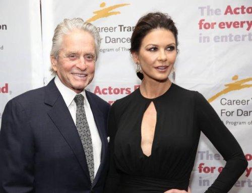 Catherine Zeta-Jones Flirting Behind Michael Douglas' Back On Set Of New Movie?
