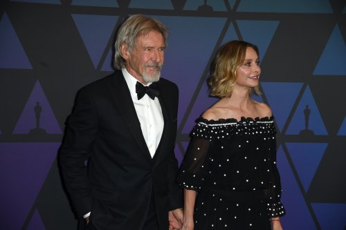 Calista Flockhart Planning To Protect Harrison Ford On Set Of New Indiana Jones Movie?
