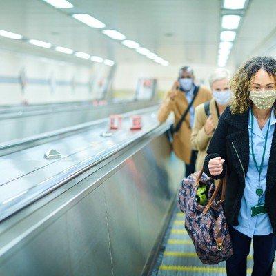 OMB Reinstitutes Mask Mandate in 'High Transmission' Regions, Including D.C.