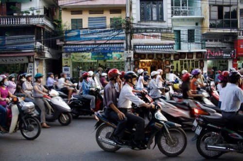 How Chickens Cross the Road in Hanoi