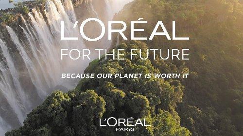 Mehr Nachhaltigkeit: Zum Earth Day stellte L'Oréal seine ambitionierten Ziele für die nächsten Jahre vor