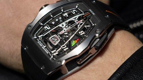 Richard Mille: Diese Uhr stellt sogar das Hypercar, das Modell stand, in den Schatten!
