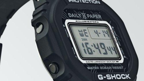 G-Shock: Limitierte Version der DW-5600 mit dem Kultlabel Daily Paper