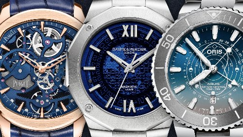 Oris, Piaget und Baume & Mercier: Die besten Uhren-Releases mit blauen Zifferblättern
