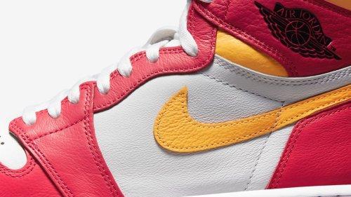 """Nike Air Jordan 1 """"Light Fusion Red"""": Dieser sommerliche Colorway fehlt noch in Ihrer Sammlung"""