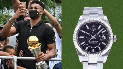 Giannis Antetokounmpo: Mit dieser Uhr feierte er die NBA-Meisterschaft