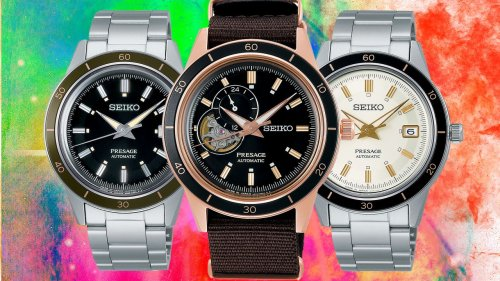 Seiko's new Presage 'Style 60s' is the perfect reincarnation of a vintage 1960s tool watch