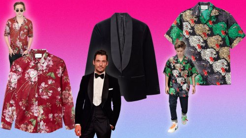 Why wouldn't you want to buy famous people's clothes for Father's Day?