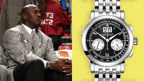 Michael Jordan's A Lange & Söhne Datograph is a marvel of watchmaking