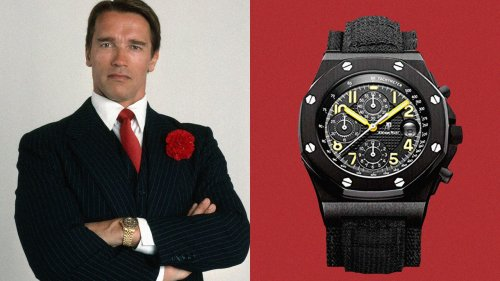 Arnold Schwarzenegger's watch collection is as action-packed as you'd expect