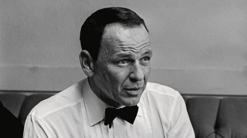 The story behind the greatest ever portrait of Frank Sinatra