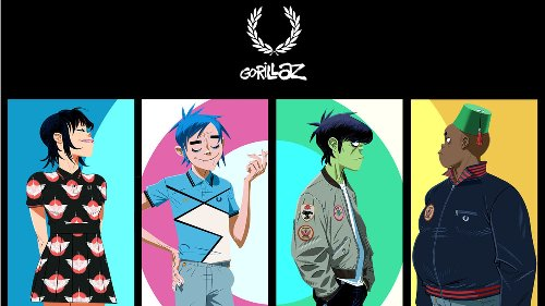 The Gorillaz x Fred Perry collection hits all the right notes