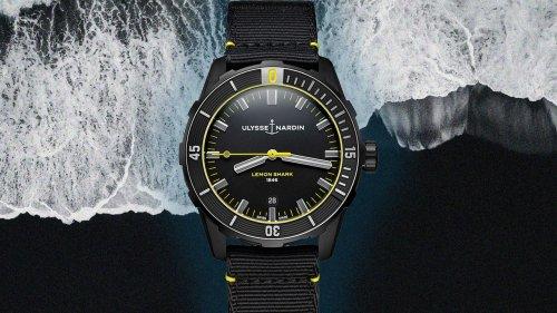Ulysse Nardin's new Diver 'Lemon Shark' is a watch as sleek as its namesake