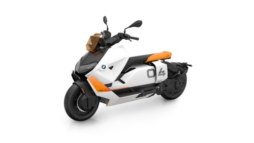 BMW's CE 04 electric scooter is actually real