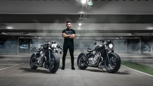 Thornton Hundred Motorcycles will turn your Triumph into a badass bobber